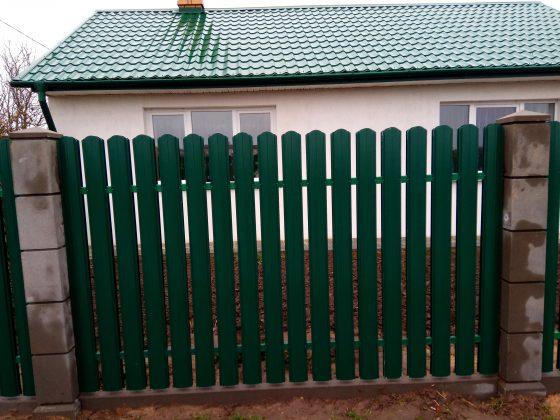 металлоштакетник и модульный забор