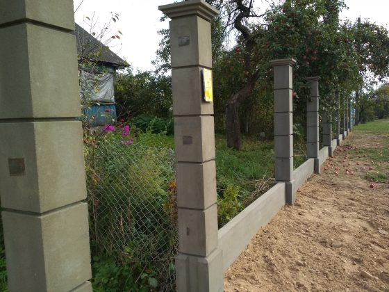 Модульный забор в Солигорске