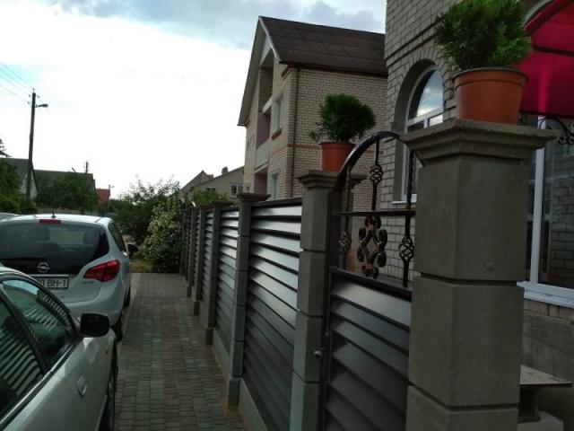 Купить модульный забор в Минске
