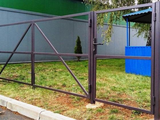 Ворота распашные в Минске