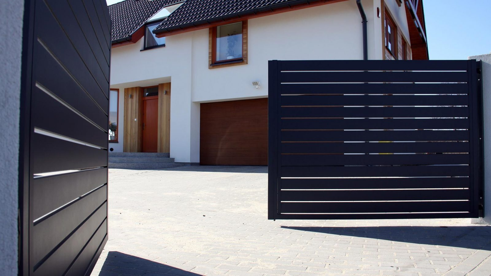 Купить ворота зашивка ранчо